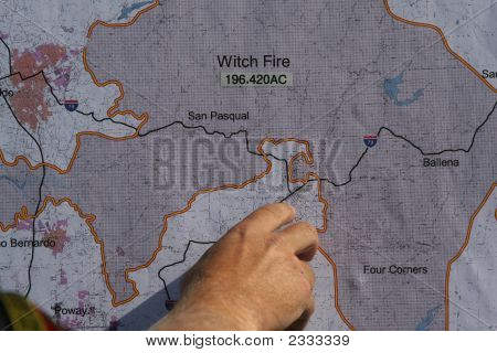 Map Of Fire Areas