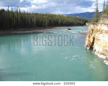 64a Athabasca River  Jasper National Park Alberta Canada