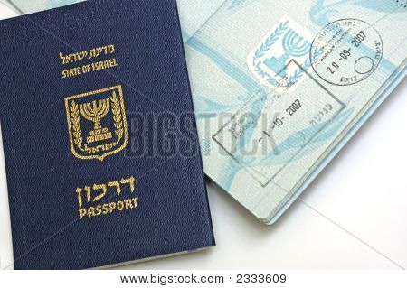 Passport Of  Israel Citizen