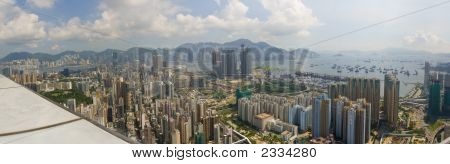 Hong Kong Kowloon Panorama