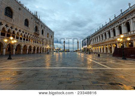 Piazza San Marco Columns