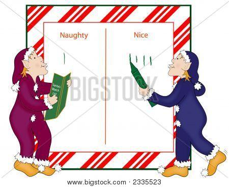 Santa Naughty And Nice List