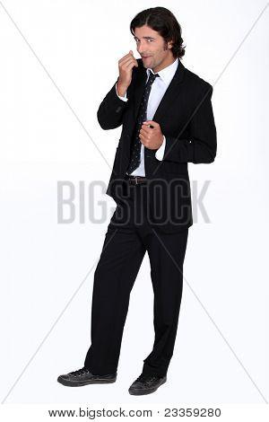 Sly man