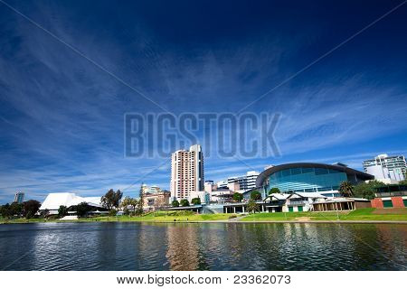 River Torrens in the City of Adelaide, South Australia