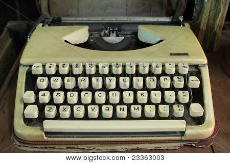 Vintage Typewriter Portable.