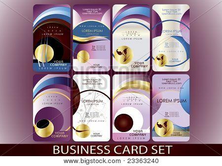 Bussines Card Set