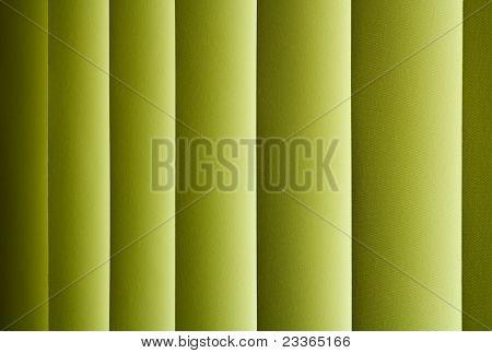 Horizontal Green Jalousie Out Of Window