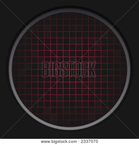 Red Radar Grid