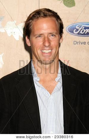 LOS ANGELES - SEP 12:  Nat Faxon arriving at the 7th Annual Fox Fall Eco-Casino Party at The Bookbindery on September 12, 2011 in Culver City, CA