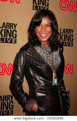 BEVERLY HILLS - DEC 16: Natalie Cole at the Larry King Live final show wrap party held at Spago in Beverly Hills, California on December 16, 2010