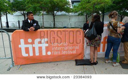 Star spotting, Toronto International Film Festival