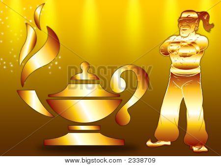Genie In Gold