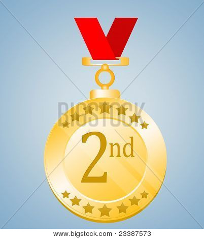 2nd Position Medal