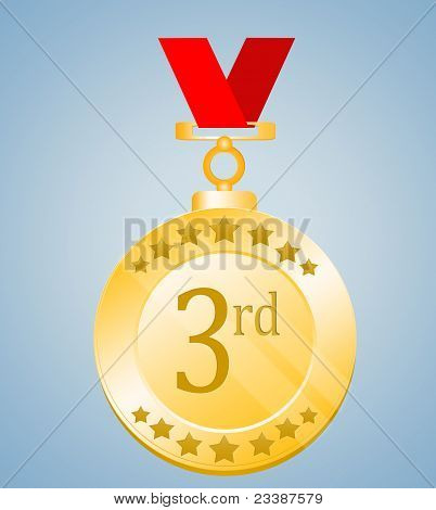 Third Position Medal