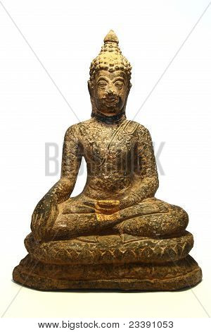Very Old Buddha Statue