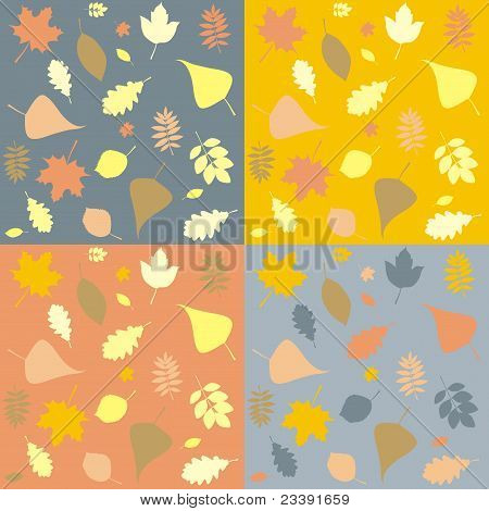 Stock Vector Illustration: Yellow Autumn Leaf