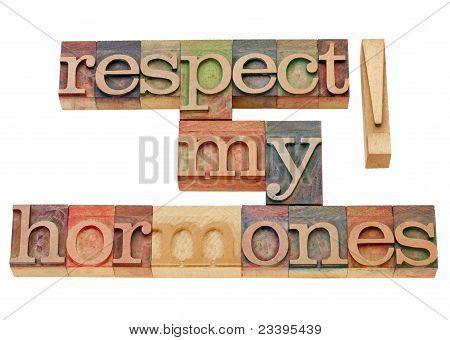 Respect My Hormones