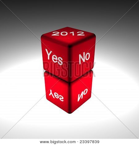 yes no dice 2012