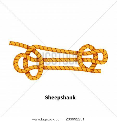 Sheepshank Sea Knot Bright Colorful