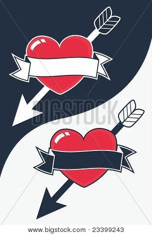 Herz Pfeil