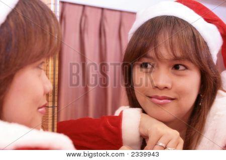 Santa'S Thinking