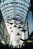 Eaton Centre In Down Town Toronto poster