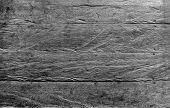 Grunge Scratch Texture On Wooden Floor, A Top View Image Of Wooden Floor That Full Of Grunge Scratch poster