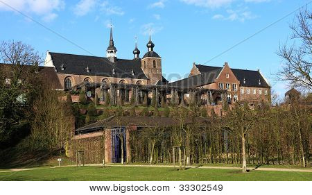 Kamp Monastery in Kamp-Lintfort - North Rhine Westphalia Germany