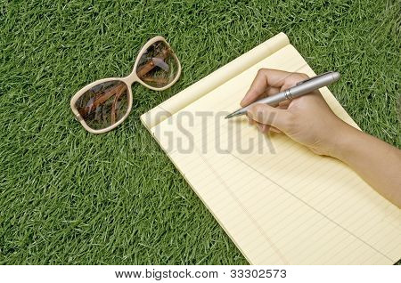 Write On The Grass