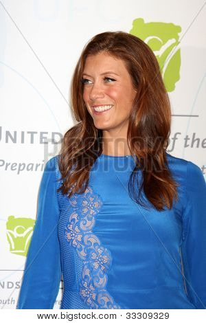 LOS ANGELES - MAY 21:  Kate Walsh arrives at the 2012 United Friends of the Children Gala  at Beverly Hilton Hotel on May 21, 2012 in Beverly Hllls, CA