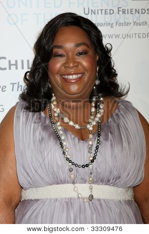 LOS ANGELES - MAY 21:  Shonda Rhimes arrives at the 2012 United Friends of the Children Gala  at Beverly Hilton Hotel on May 21, 2012 in Beverly Hllls, CA
