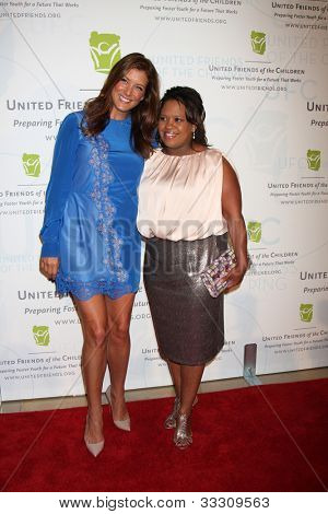 LOS ANGELES - MAY 21:  Kate Walsh, Chandra Wilson arrives at the 2012 United Friends of the Children Gala  at Beverly Hilton Hotel on May 21, 2012 in Beverly Hllls, CA