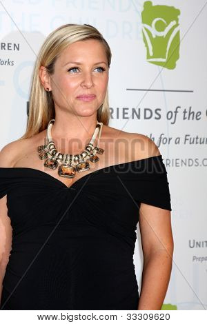 LOS ANGELES - MAY 21:  Jessica Capshaw arrives at the 2012 United Friends of the Children Gala  at Beverly Hilton Hotel on May 21, 2012 in Beverly Hllls, CA
