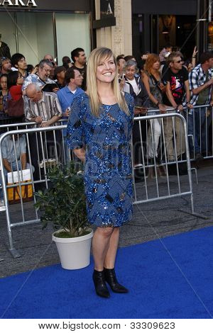 LOS ANGELES - JAN 23: Ashley Jensen at the premiere of 'Gnomeo & Juliet'  on January 23, 2011 in Los Angeles, California