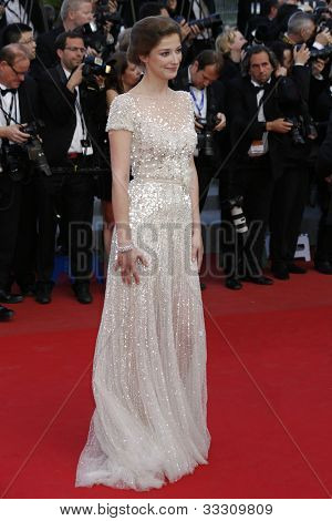 CANNES - MAY 23: Alexandra Maria Lara at the premiere screening of 'On the Road' presented in competition at the 65th Cannes film festival on May 23, 2012 in Cannes