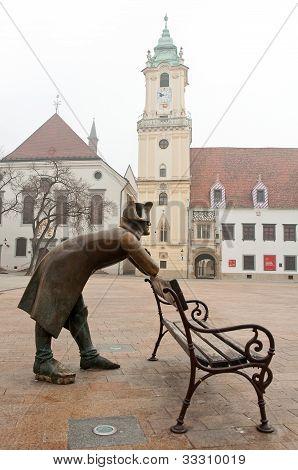 napoleon soldier in Bratislava