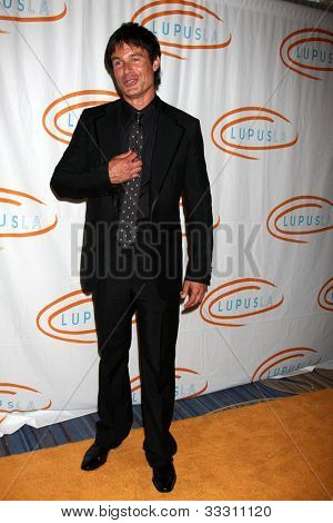 LOS ANGELES - MAY 24:  Patrick Muldoon arrives at the 12th Annual Lupus LA Orange Ball at Beverly Wilshire Hotel on May 24, 2012 in Beverly Hllls, CA