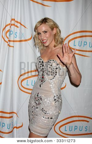 LOS ANGELES - MAY 24:  Natasha Bedingfield arrives at the 12th Annual Lupus LA Orange Ball at Beverly Wilshire Hotel on May 24, 2012 in Beverly Hllls, CA