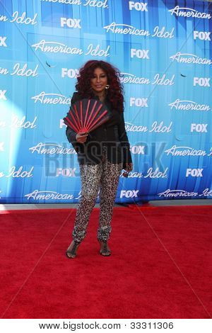 LOS ANGELES - MAY 23:  Chaka Kahn arrives at the