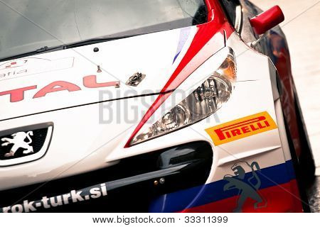 race rally car