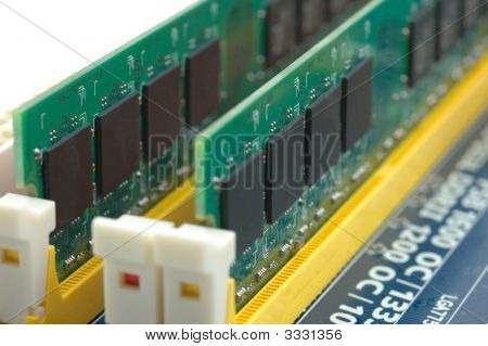 Computer Ram On Motherboard
