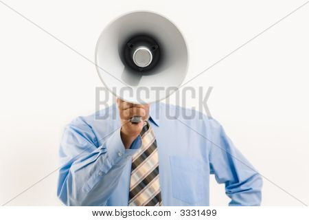 Speaking Through Megaphone