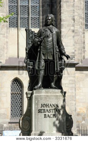 Johann Sebastian Bach Statue