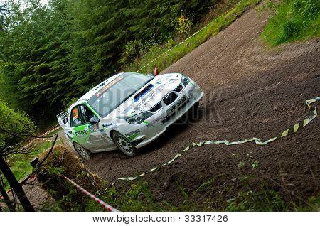 N. Henry Driving Subaru Impreza