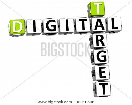 3D Target Digital Crossword