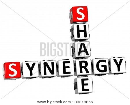 3D Share Synergy Crossword