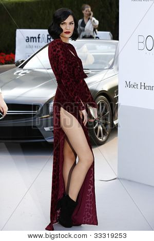 ANTIBES  - MAY 24: Jessie J at the 2012 amfAR's Cinema Against AIDS at Hotel Du Cap on May 24, 2012 in Antibes, France