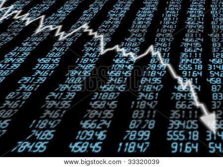 Stock Market Down