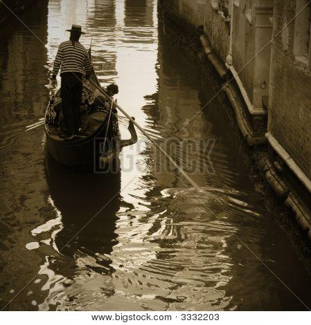 Venice: Gondoliere