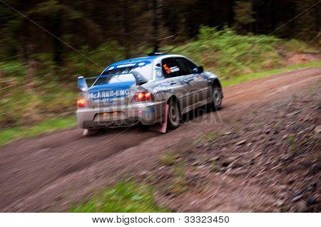 V. Mcaree Driving Mitsubishi Evo